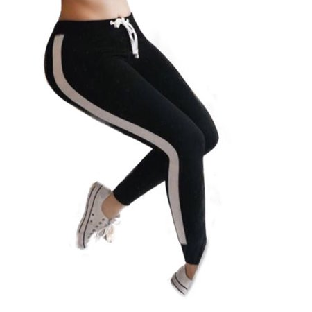 Women Waist Yoga Fitness Leggings Running Gym Stretch Sports Slim Pants Trousers