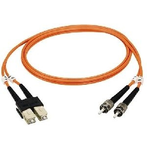 Black Box EFN110-001M-STLC Black Box Fiber Optic Duplex Patch Cable - ST Male - LC Male - 3.28ft