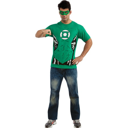 Adult Male Green Lantern Shirt Costume by Rubies 880469