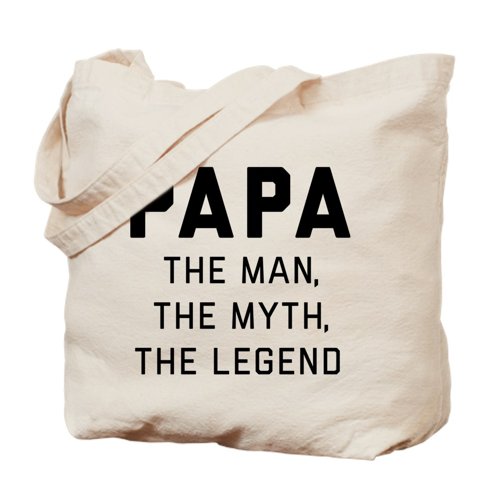 Papa The One Legend Canvas Shoulder Bag Handbags Tote Shopping Bag