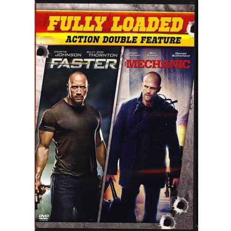 Action Double Feature  Faster   The Mechanic  With Instawatch   Widescreen