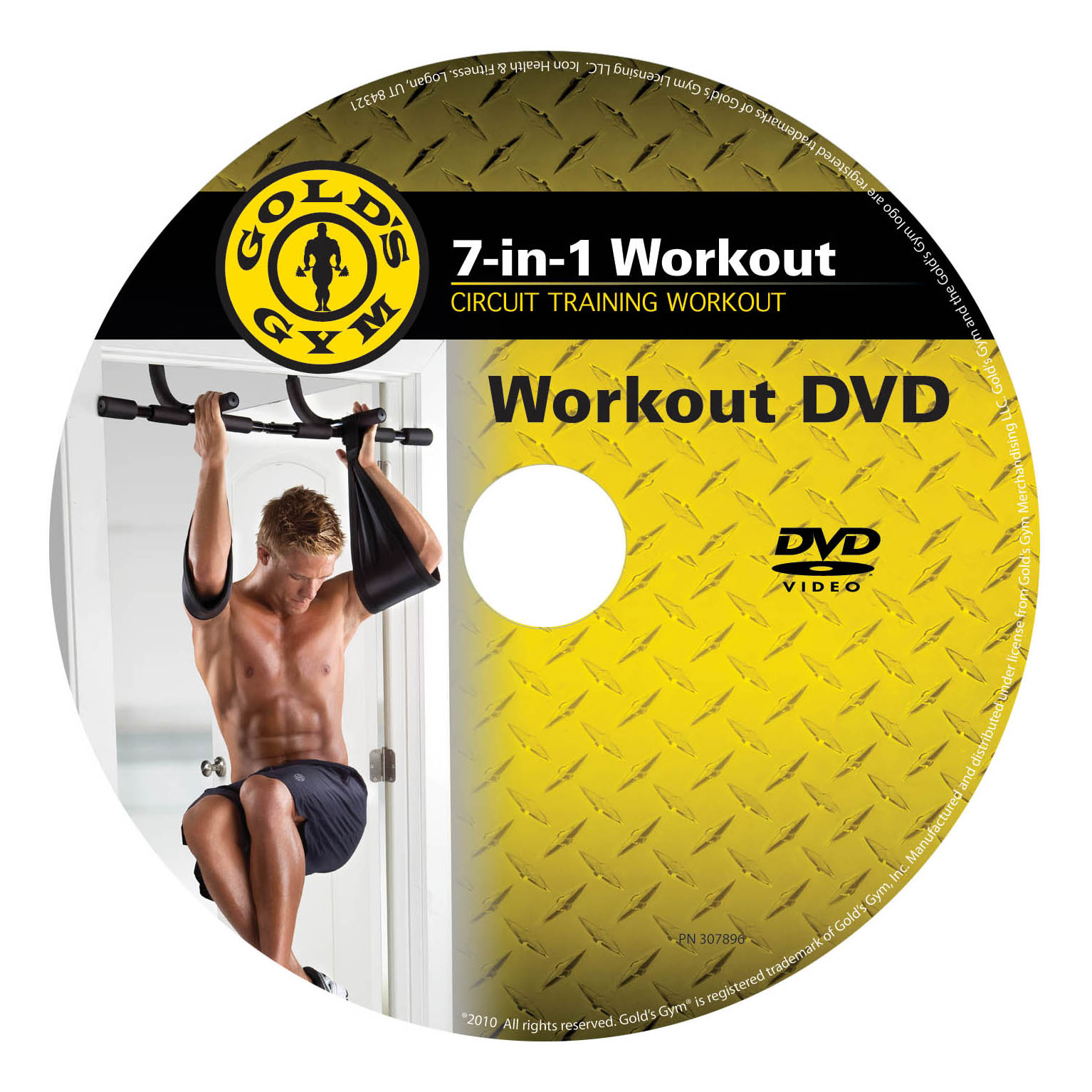Golds Gym 7 In 1 Body Building System Without Weights Bodybuilding Circuit Training