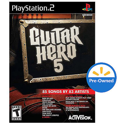 Guitar Hero 5 (PS2) - Pre-Owned - Game Only