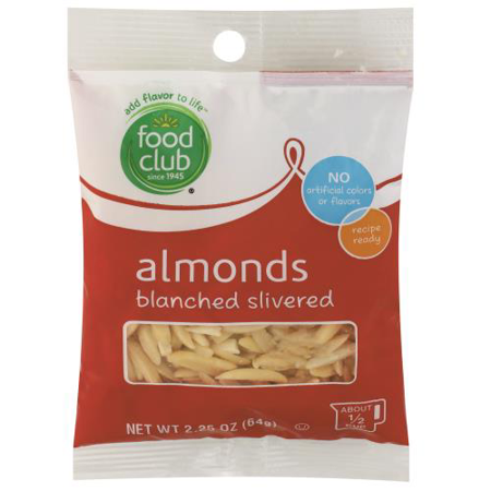 Blanched Silvered Almonds (Almond Silvers)