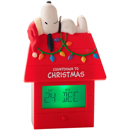 Snoopy Countdown to Christmas