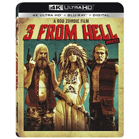 3 From Hell (4K Ultra HD + Blu-ray + Digital