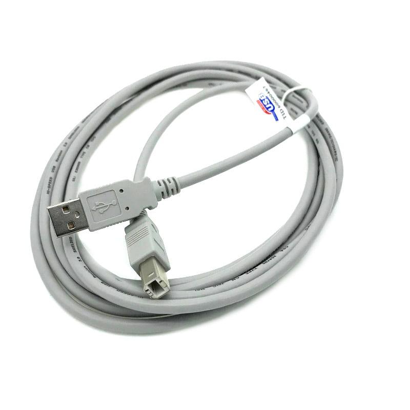 Kentek 10 Feet FT USB Cable Cord For YAMAHA PSR-E333 PSR-E343 PSR-E353 PSR-E363 P71 NP-12 NP-32 Beige