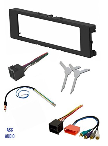 asc car stereo install dash kit wire harness antenna. Black Bedroom Furniture Sets. Home Design Ideas