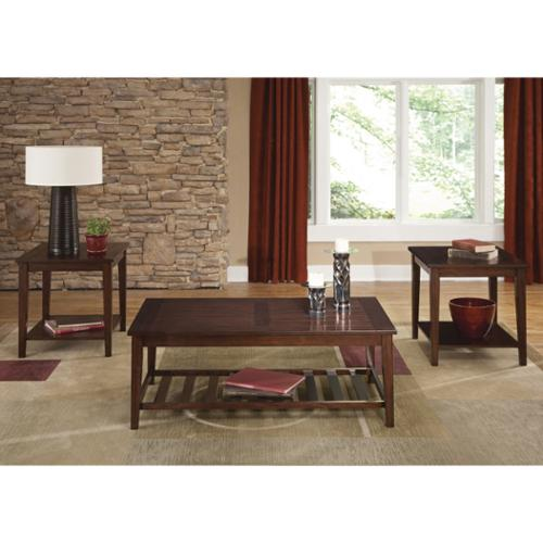 Liberty Furniture Industries Liberty Traditional Poplar Square 3-piece Set