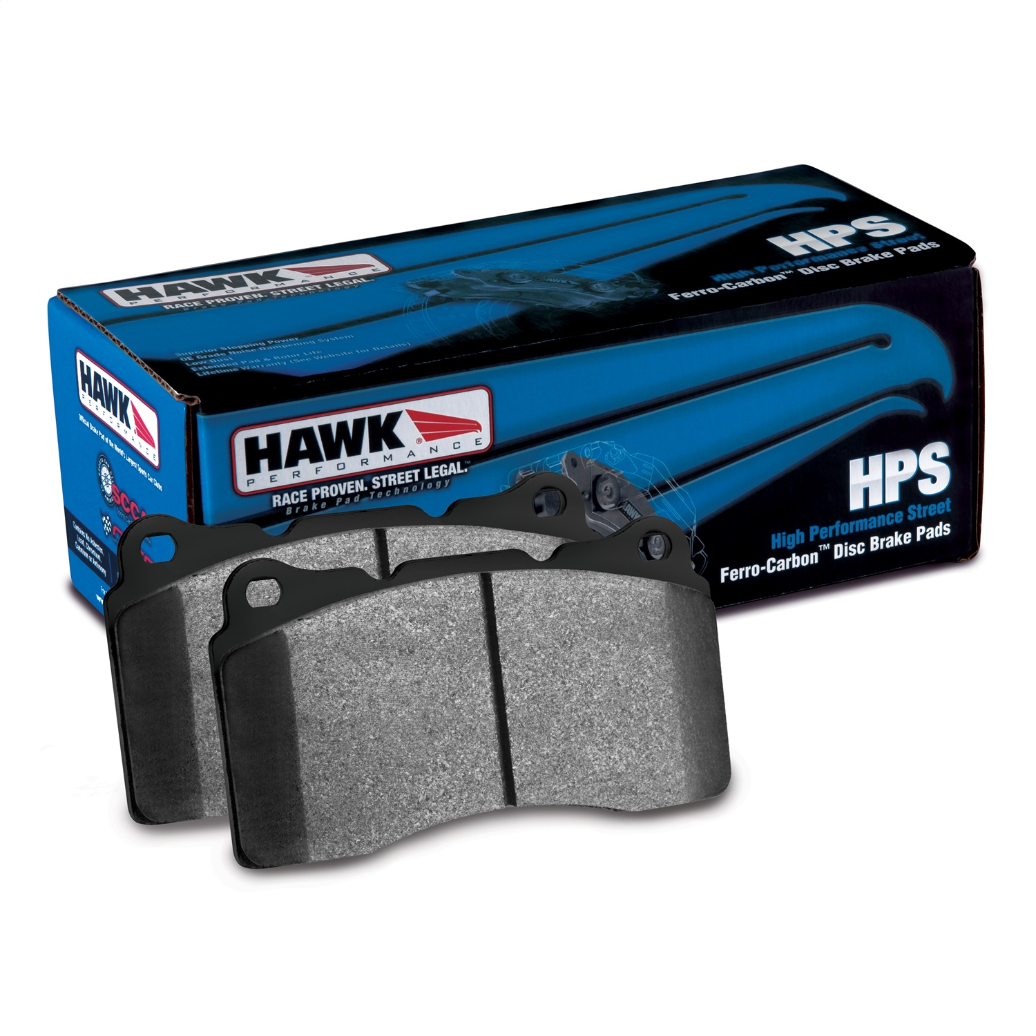 Hawk 06-08 Lexus IS250 HPS Street Front Brake Pads