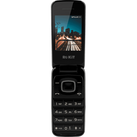 ROKiT F One - 3G 512 MB - GSM Unlocked - Dual-SIM (Best 3g Flip Phone)