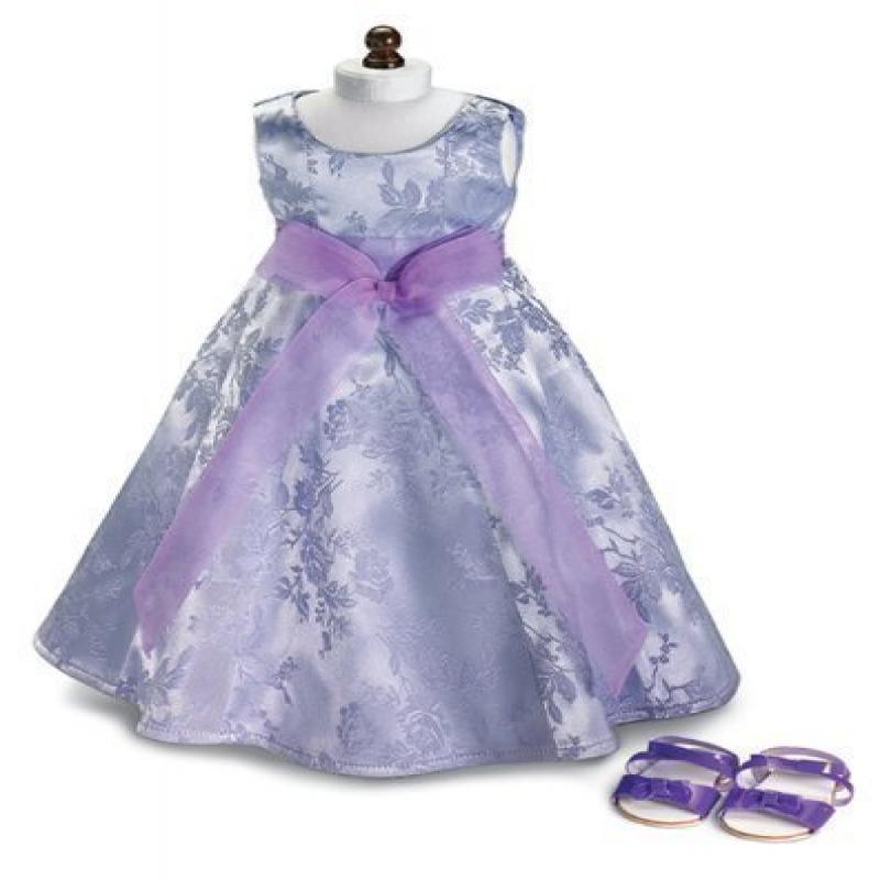 Carpatina Lavender Field ~ Party Doll Dress & Sandals, Fi...