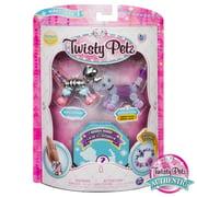 Twisty Petz - 3-Pack - Razzle Elephant, Pupsicle Puppy and Surprise Collectible Bracelet Set for Kids