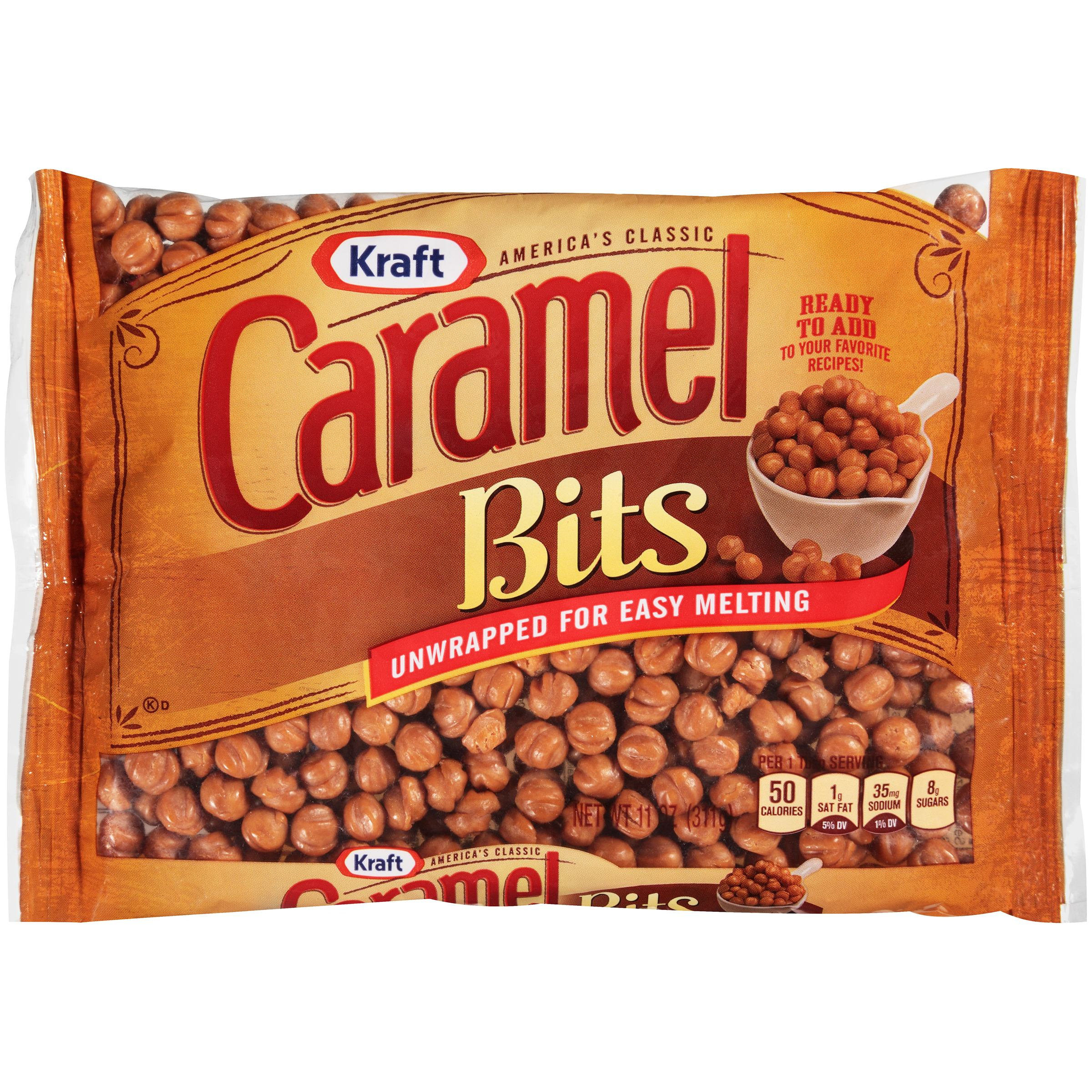 Kraft Caramel Bits 11 oz. Bag