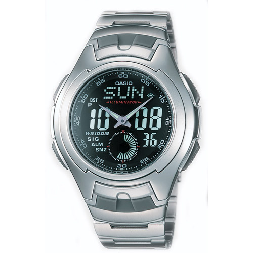 Casio Men's Electro-Luminescent Analog-Digital Sport Watch