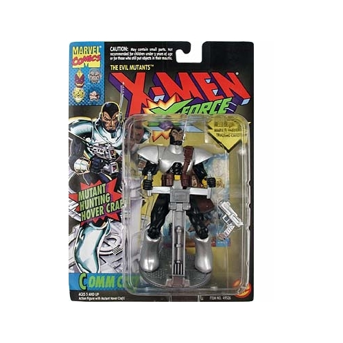 X-Men: X-Force Commcast Action Figure by Toy Biz