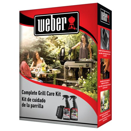 Weber Complete Grill Care Cleaning And Maintenance Kit