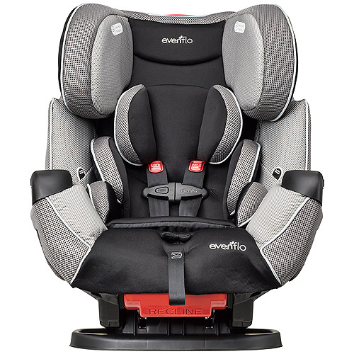 Evenflo Symphony LX All-in-1 Convertible Car Seat, Harrison