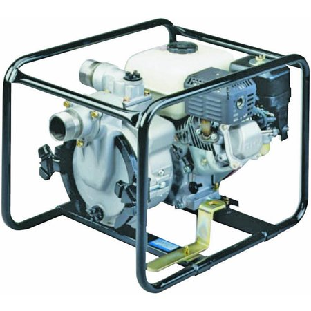 Tsurumi Ept3 Portable Trash Pump  190 Gpm  5 1 2 Hp  2 In Mnpt Inlet X 2 In Outlet