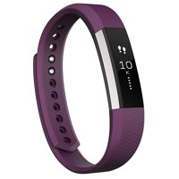 Fitbit Alta Wireless Activity and Fitness Tracker Smart Wristband, Plum, Large (6.7 - 8.1 in) (Refurbished)