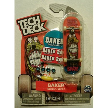 """Tech Deck Baker Skateboards """"Riley Hawk"""" Series 1 Finger Skateboard"""