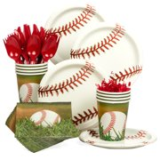 Baseball Party Standard Kit  Serves 8 Guests - Party Supplies