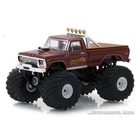 1/64 1979 Ford F-250 Monster Truck, Goliath, Kings of Crunch Series 2