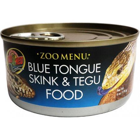Zoo Med Tegu & Monitor Food - Canned 6 oz - Pack of 12