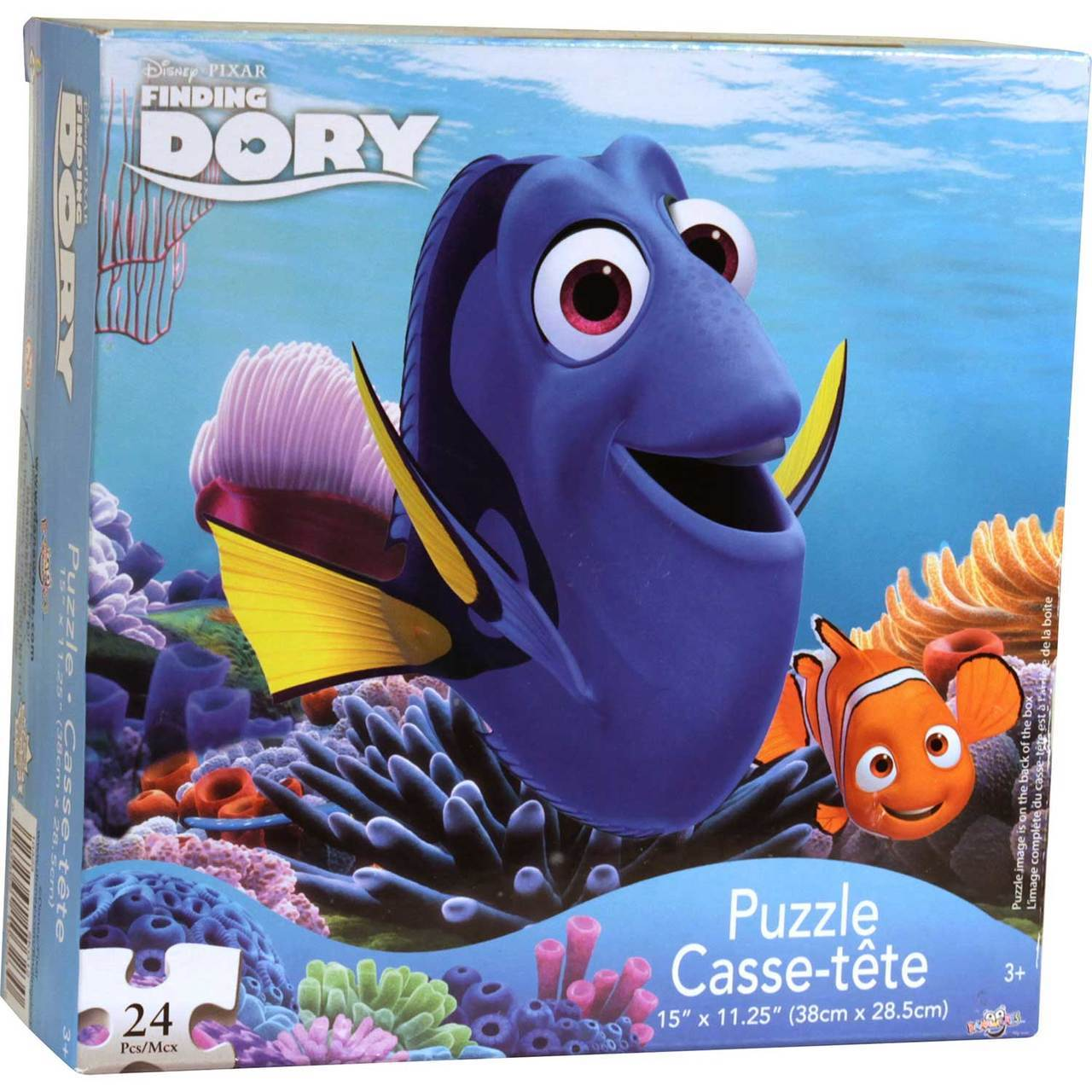 Finding Dory 24 Piece Puzzle