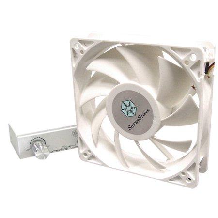 Silverstone FM122 120mm x 32mm White Fan 107 CFM High Pressure w/ Speed