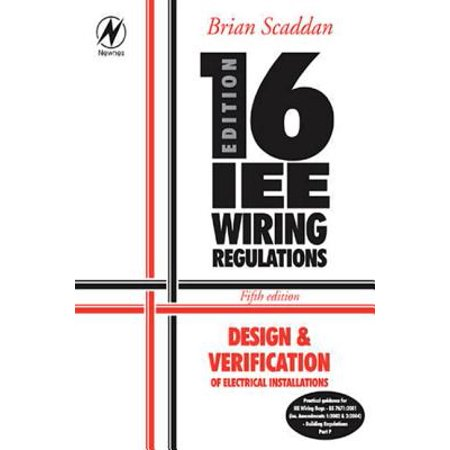Awesome 16Th Edition Iee Wiring Regulations Design Verification Of Wiring Database Wedabyuccorg