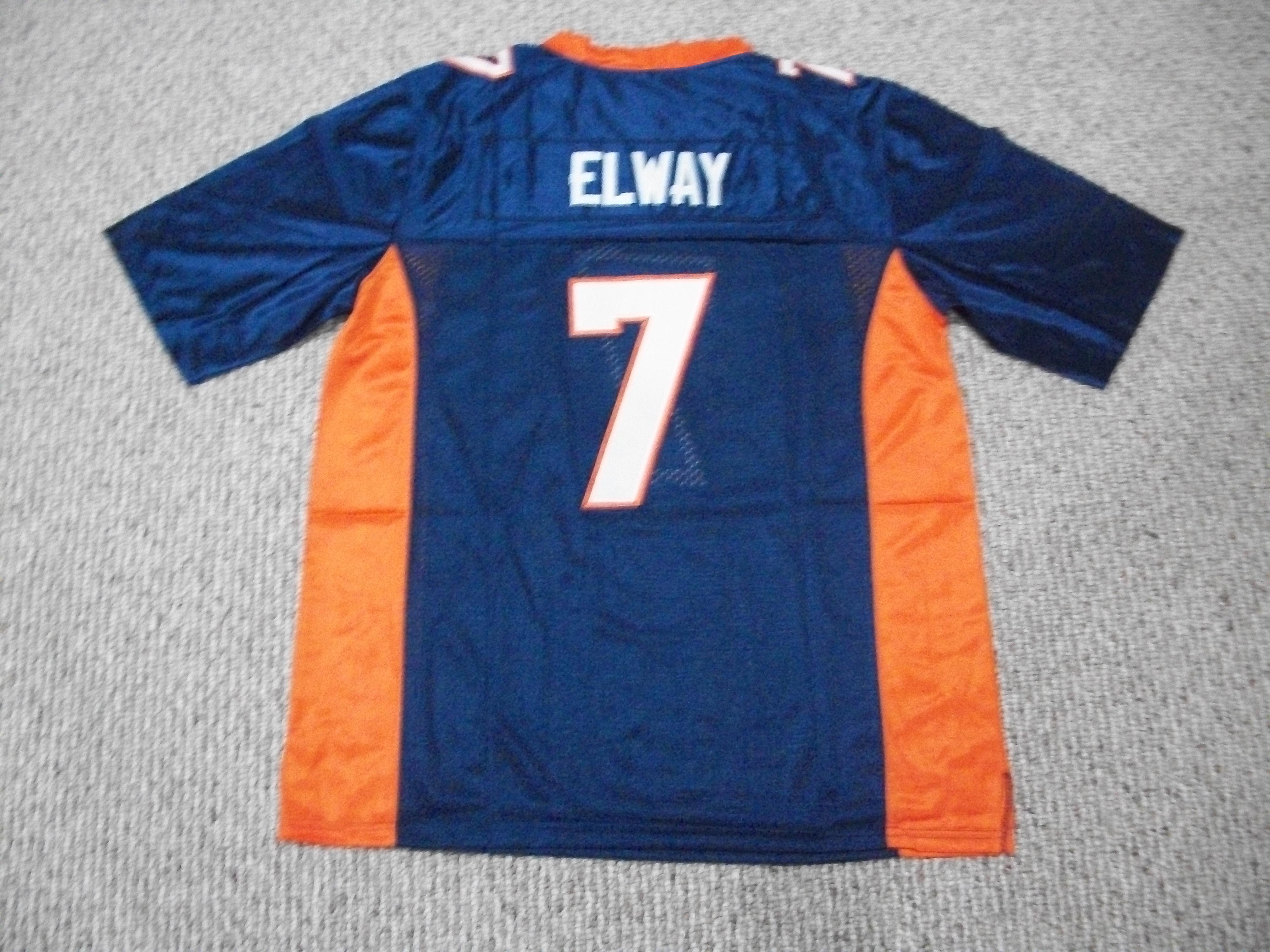 elway jersey