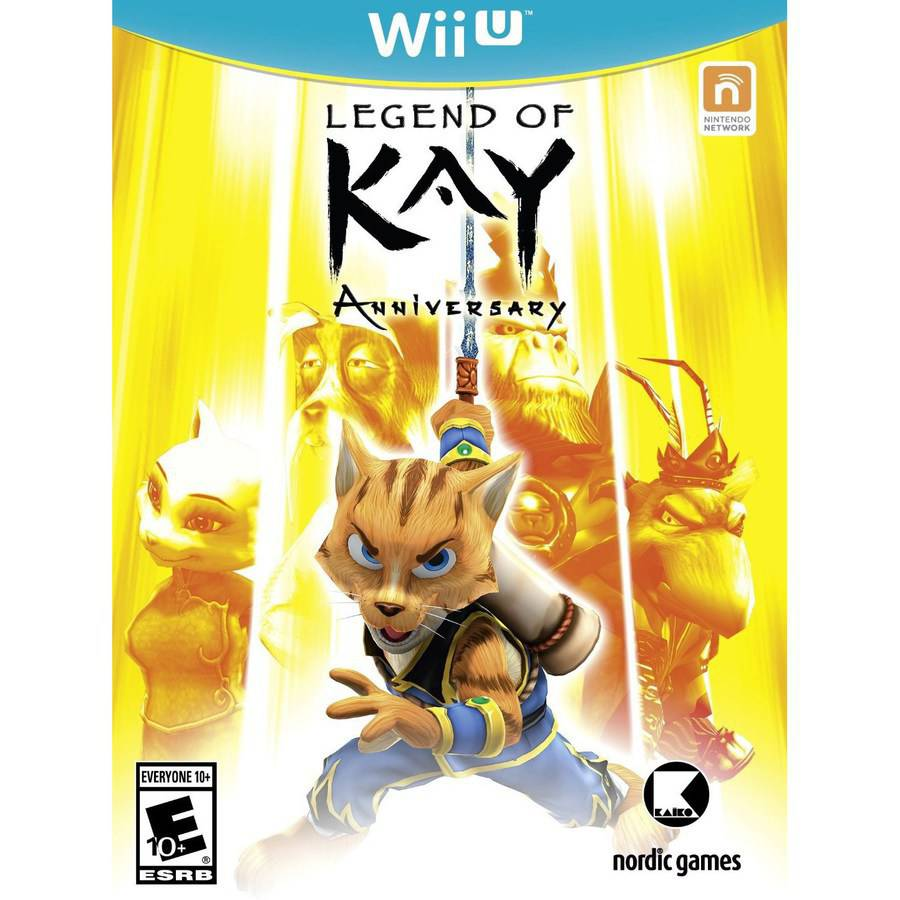 Legend Of Kay HD (Wii U)