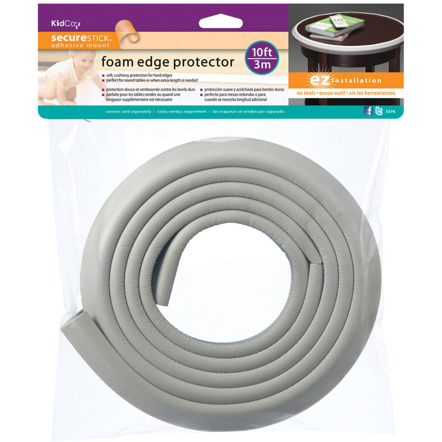 KidCo Foam Edge Protector, Gray