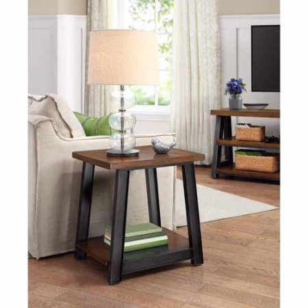 Better Homes And Gardens Mercer Accent Table Vintage Oak
