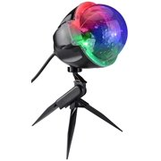 Smart Lights Snow Flurry LED Bluetooth Spotlight Projection Christmas Lightshow - 61 Functios and Color Combinations