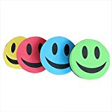 Best Magnetic Smiling Face Whiteboard Dry Eraser And The Color Is Random - Dry Erasers