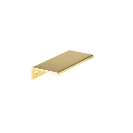 Richelieu BP989880 3 1 8 Center To Center Finger Cabinet Pull