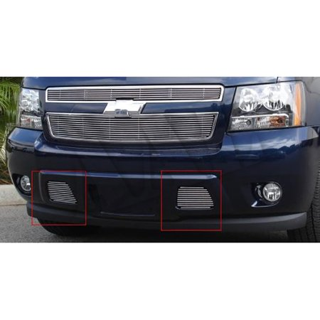 AAL BOLT ON / BOLT OVER BILLET GRILLE / GRILL INSERT For 2007 2008 2009 2010 2011 CHEVY AVALANCHE License plate 1PC BOLTON