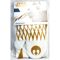 star wars the last jedi pinache oven mitt and apron set
