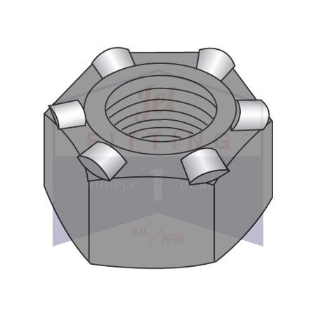Pilot Nut (1/4-20 Hex Weld Nuts | 6 Projections | With High, Self-Locating Pilot | Steel | Plain Finish | Nuts can be fed automatically or manually (Quantity:)