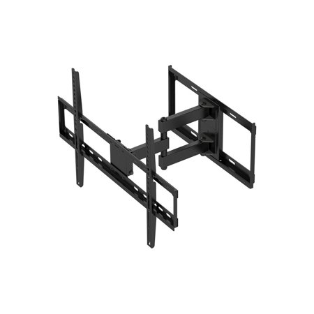 Monoprice Titan Series Full Motion Dual Stud Single Arm Wall Mount For Large Up to 70