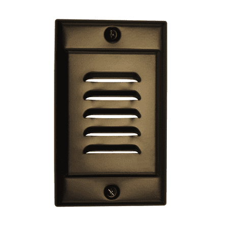 NICOR Lighting Vertical Faceplate for STP-10-120-WH, Oil-Rubbed Bronze (FPVOB)