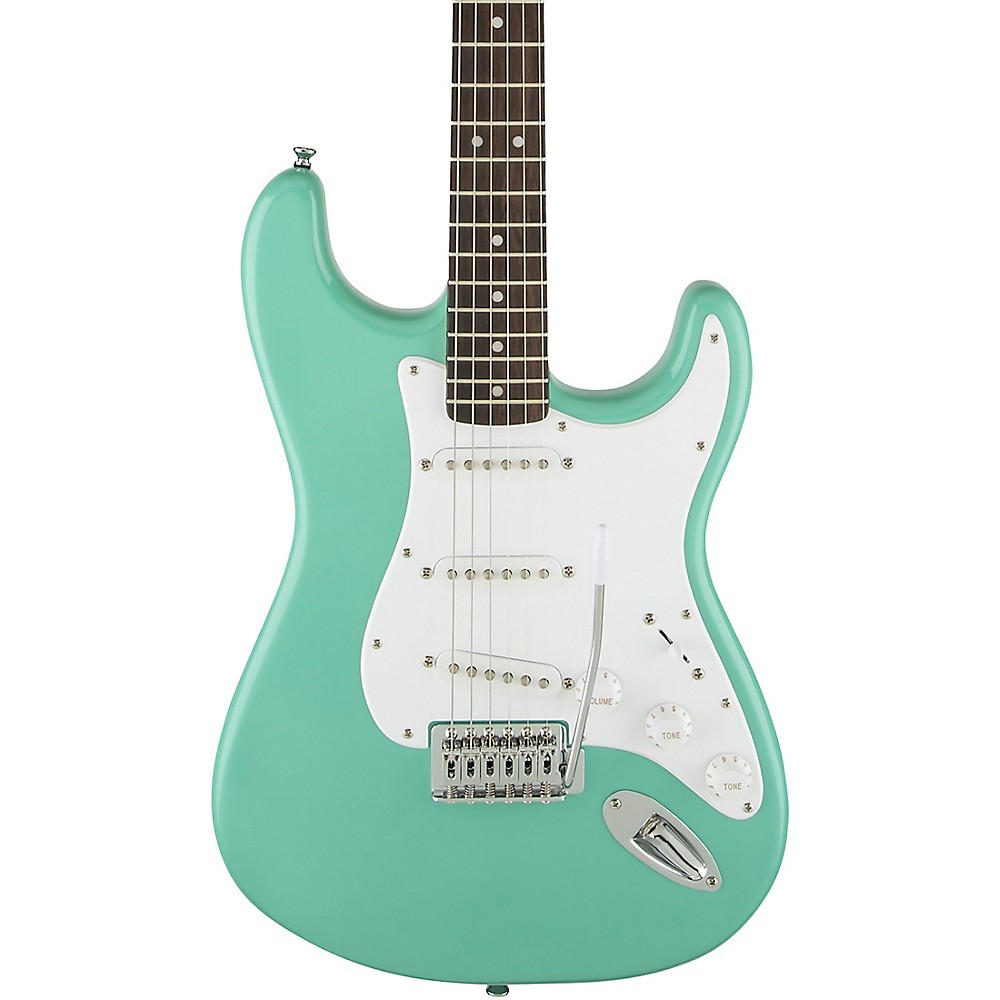 Squier Special Edition Bullet Stratocaster SSS Electric Guitar with Tremolo Sea Foam Green
