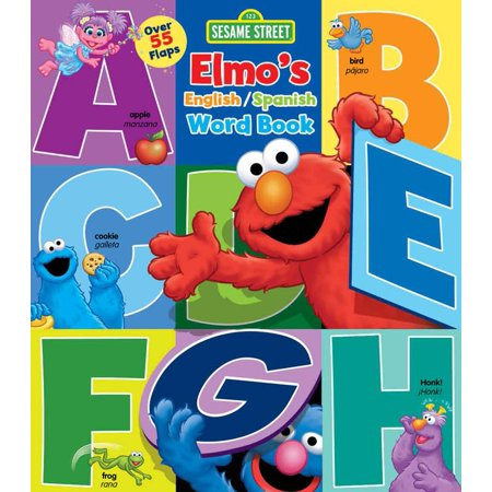 Elmos English Spanish Word Book (Board Book)