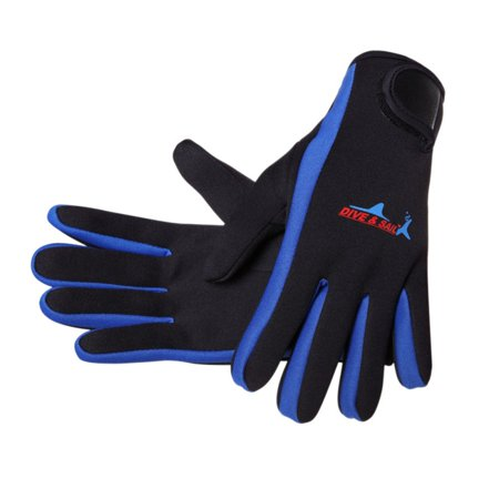 Wetsuits 1.5 mm Premium Neoprene Gloves Scuba Diving Five Finger (Coldwater Scuba Diving Gloves)