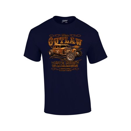 Hot Rod T-Shirt The Outlaw Garage Genuine Stolen Parts