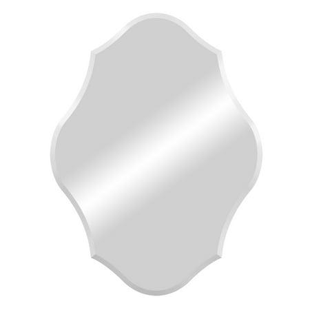 Scalloped Mirror - Royal Scalloped Edge Frameless Mirror 15