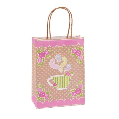 Halloween Brown Paper Bag Decorating (Medium Tea Party Kraft Paper Gift)