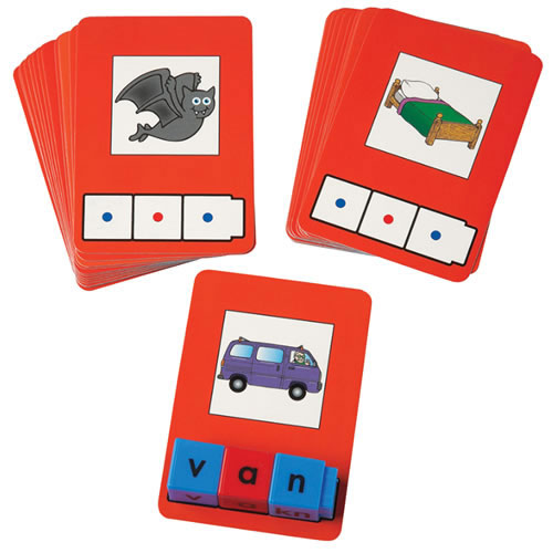 Didax DD-2819 Cvc Word Building Cards 24 Cards